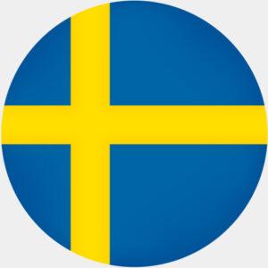 Sverige tårtbild