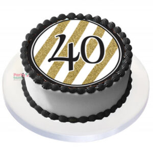 Tårtbild 40 år