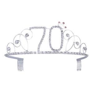 Tiara med Siffror - Siffra 70