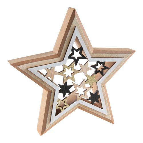 Trädekoration Stjärna