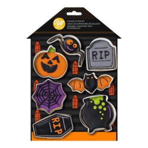 Wilton Kakformar Haunted Halloween - 7-pack