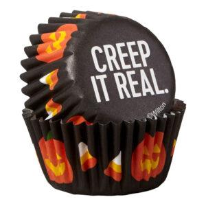 Wilton Muffinsformar Mini Creep it Real - 100-pack