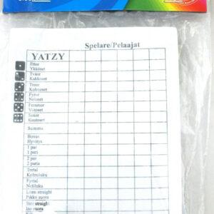 Yatzy med tärningar