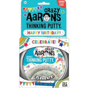 Crazy Aaron's Thinking Putty 91g (Celebrate)