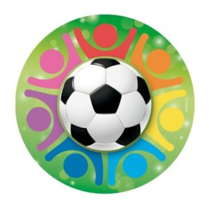 Fotboll, tårtbild