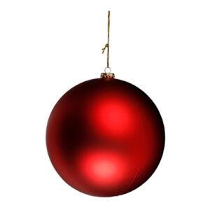 Gigantisk Julgranskula - Matt 20 cm