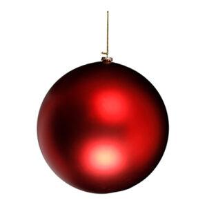 Gigantisk Julgranskula - Matt 30 cm