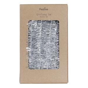 Julgransglitter Silver Klassiskt - 500 x 2,5 cm
