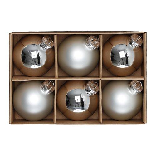 Julgranskulor Klassiska - Silver