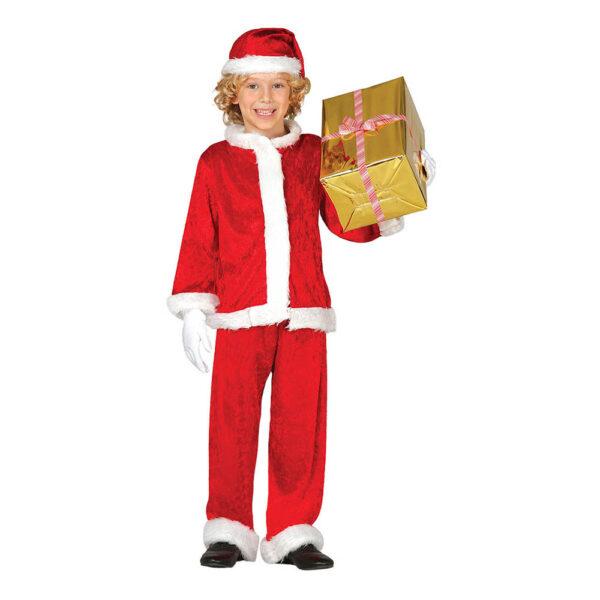 Jultomte Barn Maskeraddräkt - Small