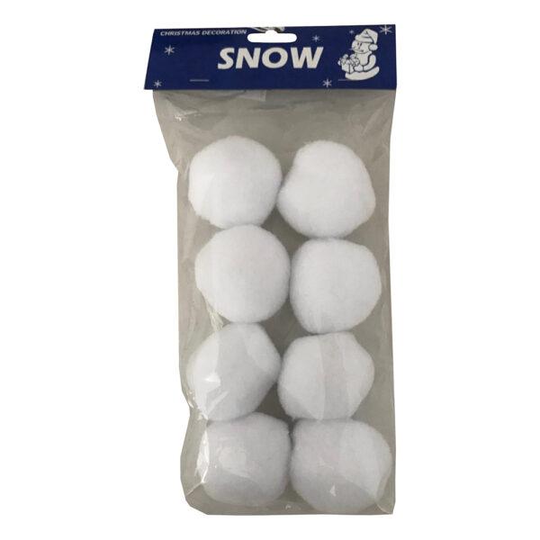 Konstgjorda Snöbollar