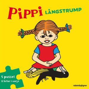 Pippi Långstrump Pusselbok