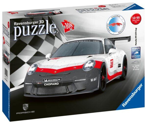 Ravensburger 3D Pussel Porsche GT3 Cup 108-bitar