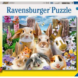 Ravensburger Pussel Kanin Selfie 100-bitar