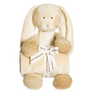 Teddykompaniet Diinglisar med filt (Kanin)