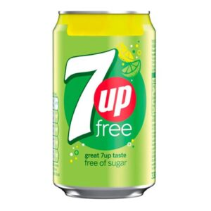 7-UP Free Sockerfri - 24-pack