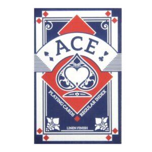Ace Poker-kortlek (Blå)
