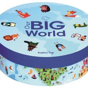 Barbo Toys Världen Pussel 200-bitar