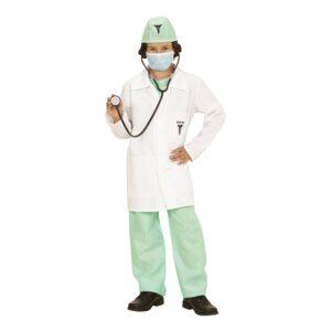 Doktor Barn Klassisk Maskeraddräkt - Small