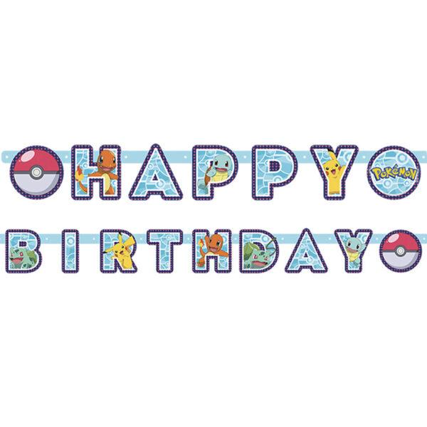 Dukning, Pokémon Girlang 210x12cm