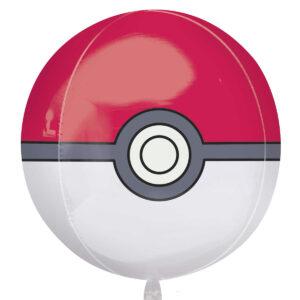 Folieballong, Pokémon Pokéball 38x40 cm