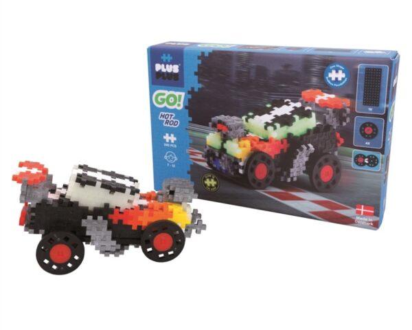 Plus-Plus Go! Hot Rod Racerbil