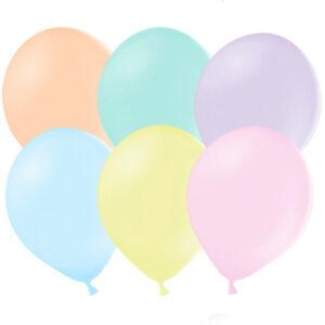 100 pack Pastellballonger