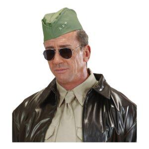 40-tals Militärhatt Grön