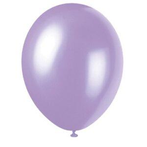 50 pack Ballonger Lavender Metallic