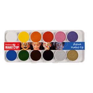Aqua Make-Up Ansiktsfärger