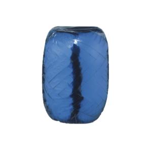 Ballongsnöre, metallic blå 20 m x 5 mm