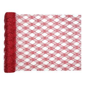 Bordslöpare Deluxe Röd