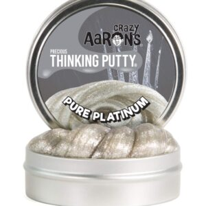 Crazy Aaron's Precious Slime 45g (Pure Platinum Glitter)