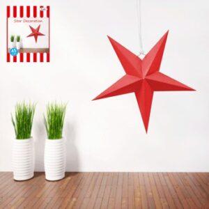 Dekoration Stjärna Röd