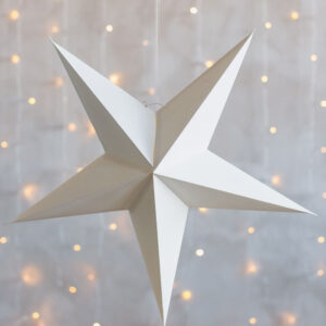 Dekoration Stjärna Vit