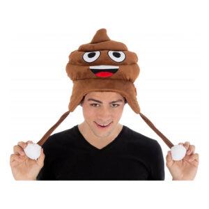 Emoji Bajs Hatt - One size