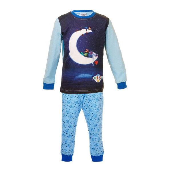 Pyjamas Barn Vännernas Stad Blå - Medium