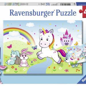 Ravensburger Pussel Enhörningar 2x24-bitar