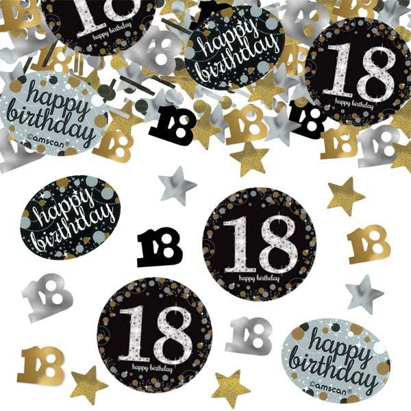 18-års-konfetti