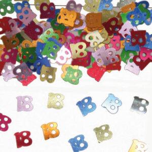 18-års färgglad konfetti