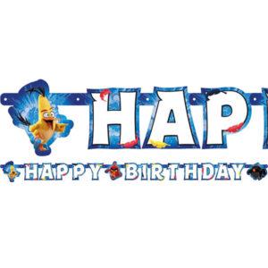 Angry Birds Crew Happy Birthday Girlang