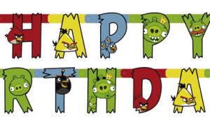 Angry Birds Happy Birthday Girlang