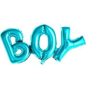 "Baby Shower ballonggirlang ""BOY"""
