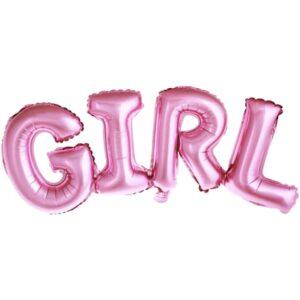 "Baby Shower ballonggirlang ""GIRL"""