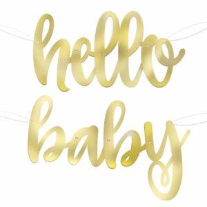 Babyshower Banner unisex