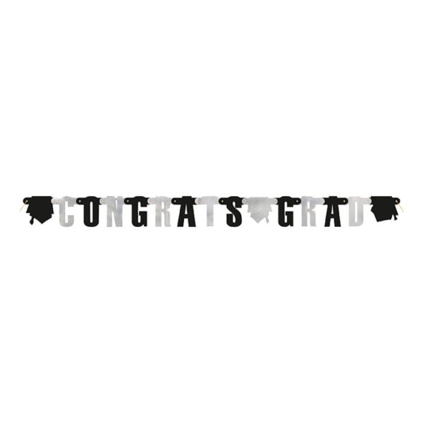 Bokstavsgirlang Examenshattar Congrats Grad