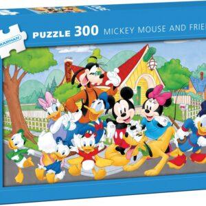 Disney Musse Pigg och hans vänner Pappussel (300-bitar)
