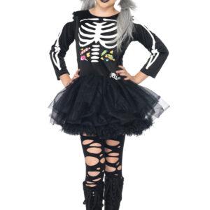 Dräkt, Skelettklänning godis S