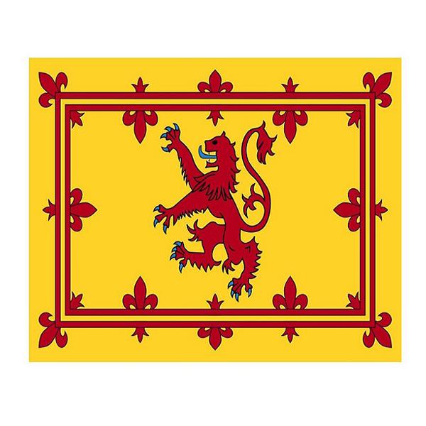 Flagga Skottland Kungaflagga