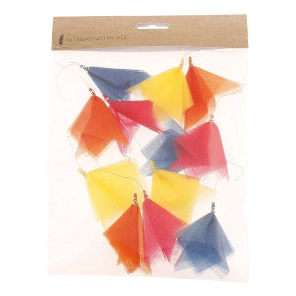 Flaggirlang Tyll - 12-pack